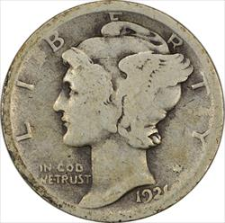 1921-P Mercury Dime G Uncertified