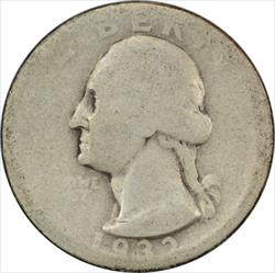 1932-D Washington Quarter AG Uncertified