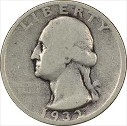 1932-S Washington Quarter G Uncertified