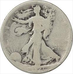 1921-P Walking Liberty Half Dollar AG Uncertified