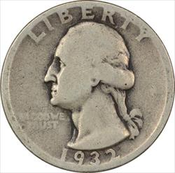 1932-D Washington Quarter G Uncertified