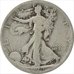 1919-S Walking Liberty Half Dollar G Uncertified