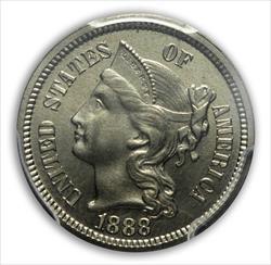 Three cent Silver