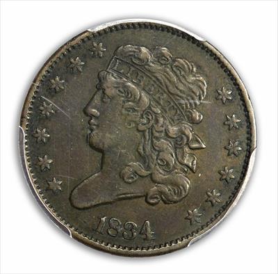 Half Cents Classic Head