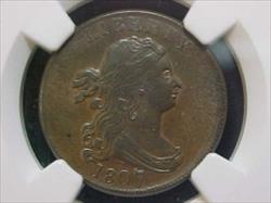 Half Cents Draped Bust C1 MGC MS62BN