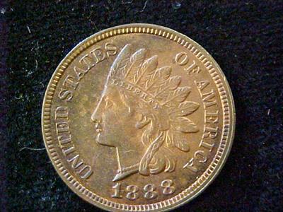 1888- INDIAN HEAD