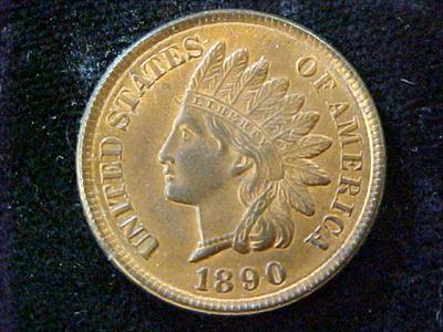 1890-INDIAN HEAD