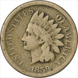 1859 Indian Cent G Uncertified