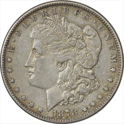 1878-P Morgan Silver Dollar 7/8TF EF Uncertified