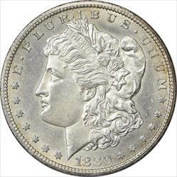 1880-CC Morgan Silver Dollar AU58 Uncertified