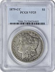 1879-CC Morgan Silver Dollar VF25 PCGS