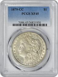 1879-CC Morgan Silver Dollar EF45 PCGS