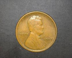 1909  LINCOLN WHEAT CENT