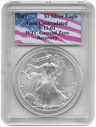 2001- $1 AMERICAN EAGLE
