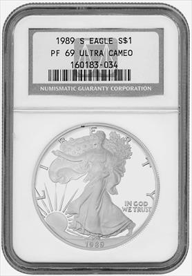 1889- $1 MORGAN