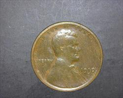 1910-S  LINCOLN WHEAT CENT