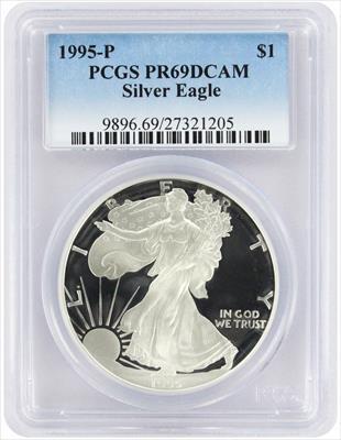 1995 P American  Eagle  DCAM PCGS Proof 69 Deep Cameo