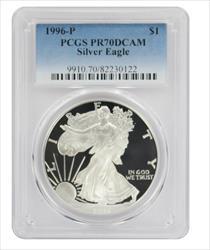 1996 P American  Eagle  DCAM PCGS Proof 70 Deep Cameo