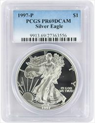 1997 P American  Eagle  DCAM PCGS Proof 69 Deep Cameo