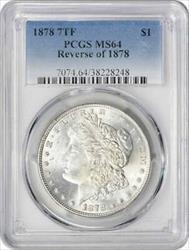 1878 Morgan   7TF Reverse of 1878 PCGS