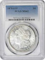 1878 P Morgan   8TF  PCGS
