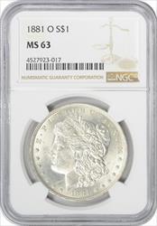 1881 O Morgan    NGC