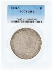 1878- S$1 MORGAN