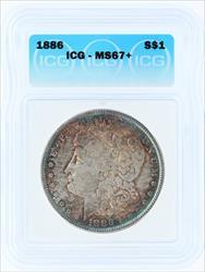 1886- S$1 MORGAN
