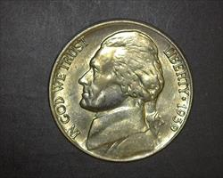 1939 REVERSE OF 1940 JEFFERSON NICKEL