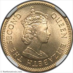 1963 5 Cents British Honduras NGC MS63