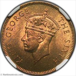 1952 5 Cents British Honduras NGC MS64
