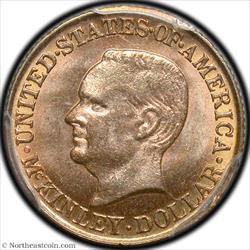 1916 McKinley Dollar Gold Commem PCGS MS64