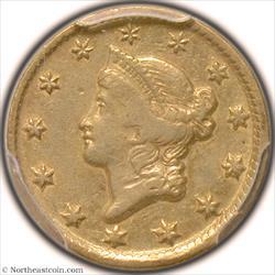 1851-D Gold Dollar PCGS XF40