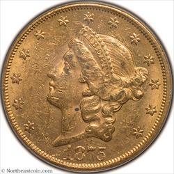 1875-CC Gold Double Eagle PCGS MS61