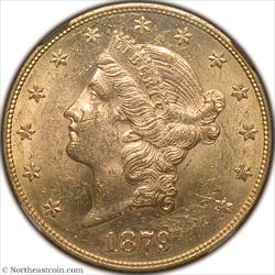 1879-S Gold Double Eagle NGC MS61