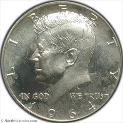 1964 Kennedy Half Dollar PCGS PR67