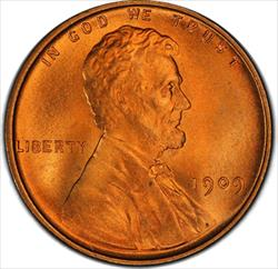 1909 VDB Lincoln Cent PCGS MS67RD