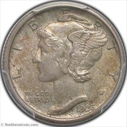 1923-S Mercury Dime PCGS AU53