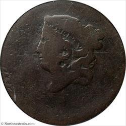 1816-36 (ND) Large Cent Off-Center Mint Error PCGS Fair 2