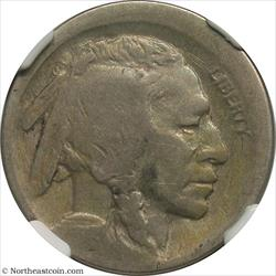 1918 Buffalo Nickel Broadstruck Mint Error NGC G4