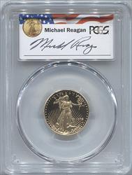 1998-W $10 Modern Gold Eagle PCGS PR69DCAM