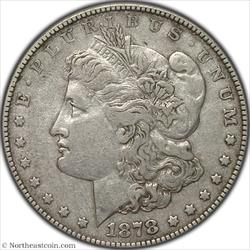 1878 7TF Washed Out L Vam-188 Hit List Morgan Dollar PCGS XF40