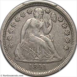 1841-O Seated Dime PCGS VF35