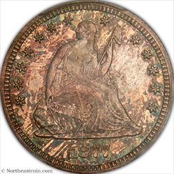 1877-CC Seated Quarter PCGS MS65