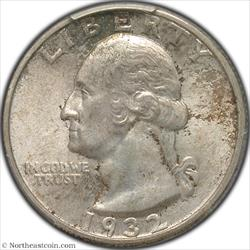 1932-S Washington Quarter PCGS MS64