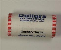 2009 Zachary Taylor Presidential Dollar Roll BU 25 $1 Coins *Mint Mark Unknown*