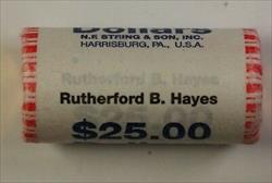 2011 Rutherford B Hayes Pres. Dollar Roll 25 BU $1 Coins *Mint Mark Unknown OBW