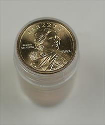 2003 P $1 Sacagawea Dollar BU Roll 25 Coins Native American