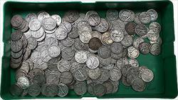 1916-1947 Lot of 10 Walking Liberty Silver Half Dollars 50c G