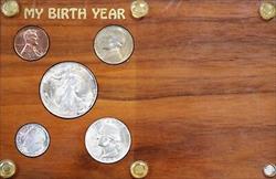 1946 Uncirculated Year Set Walking Liberty Washington Quarter Roosevelt 3 Silver